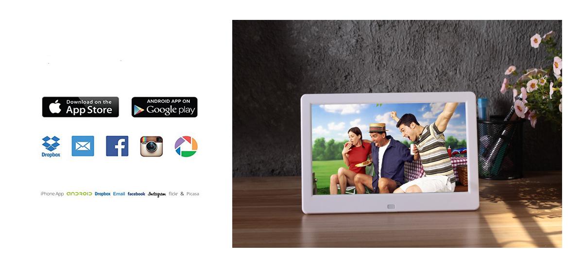 Cornice Digitale Con Sveglia E Calendario.Www Fornitureaziendali It